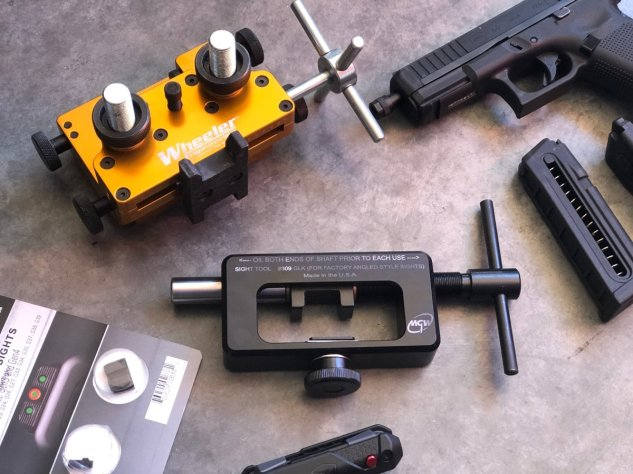 MGW and Wheeler Sight Tool For Glocks