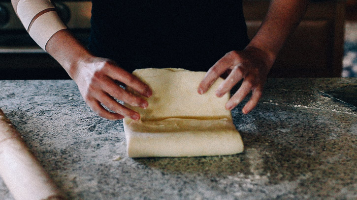 Puff Pastry Tutorial How to Make Puff Pastry From Scratch | www.megiswell.com