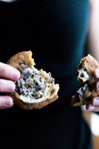 These S'mores Chocolate Chip Cookies use browned honey butter, turbinado and brown sugar, melted and toasted marshmallows, and chocolate for a campfire twist on the classic chocolate chip. | www.megiswell.com