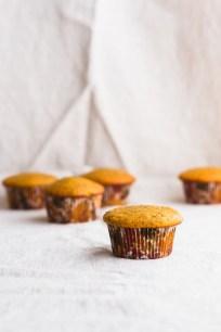 Pumpkin Cupcakes with Brown Butter Salted Caramel, Tahini Sage Buttercream, and Caramel Corn #fall #pumpkin #cupcakes   www.megiswell.com
