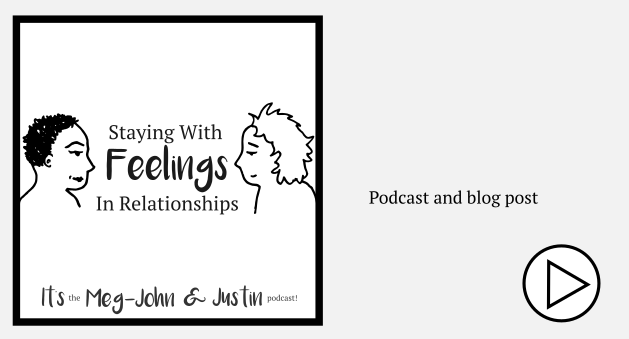 staying with feelings in relationships