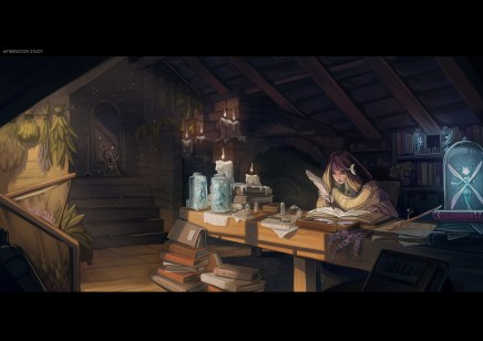 Afternoon Study by Dina Norlund