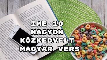 Íme 10 nagyon közkedvelt magyar vers