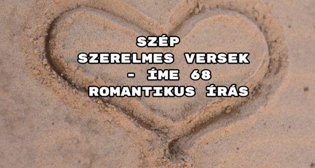 Szép szerelmes versek