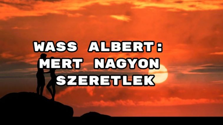 annyira szeretlek idézetek Wass Albert megható verse: Mert nagyon szeretlek