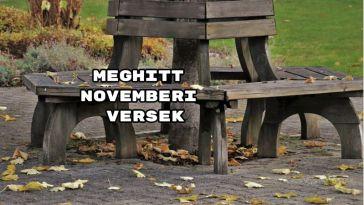 Íme a meghitt novemberi versek!