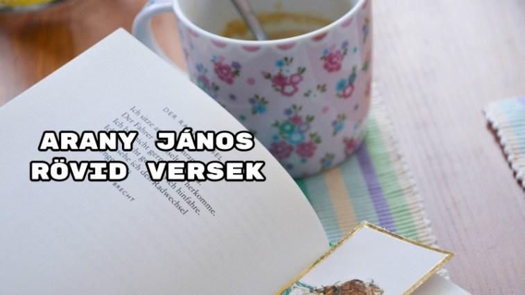 Arany János rövid versek