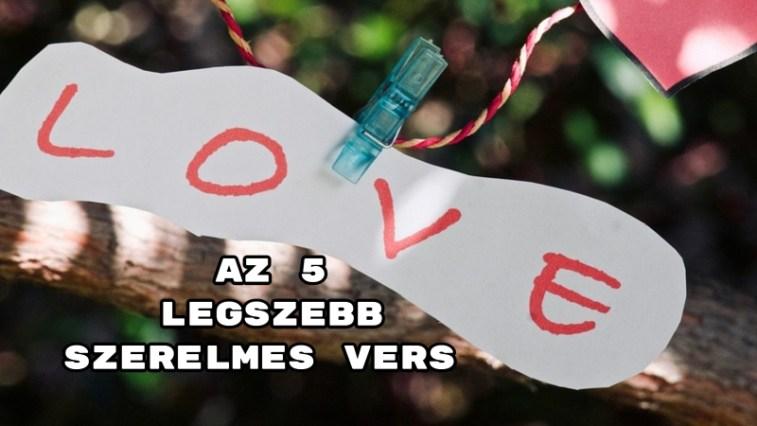 Az 5 legszebb szerelmes vers