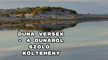 Duna versek - 4 Dunáról szóló költemény