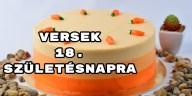 Versek 18. születésnapra