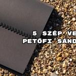 5 szép vers Petőfi Sándortól