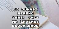 10 Juhász Ferenc vers, amit ma érdemes elolvasnod