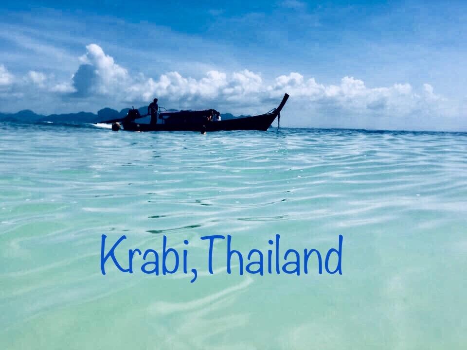The waters of Krabi.