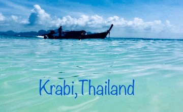 The waters of Krabi.