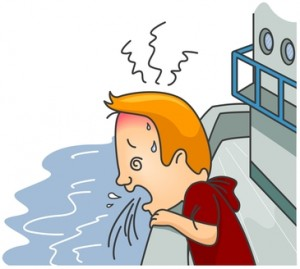 Do you get sea-sick easily?