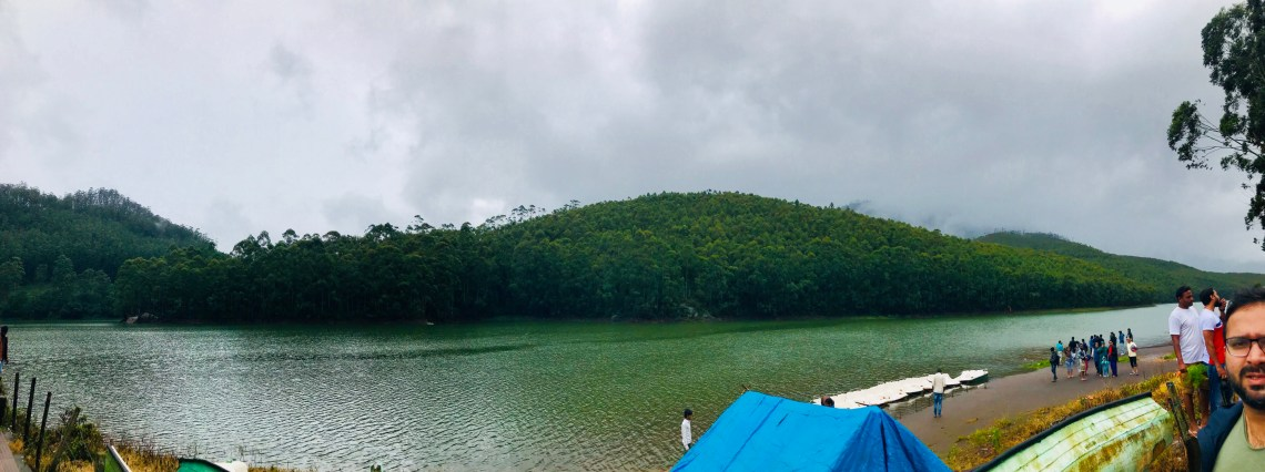 Panoramic view of Kundala lake