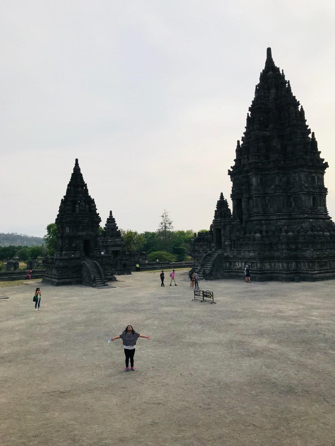 Spiritually high at Prambanan