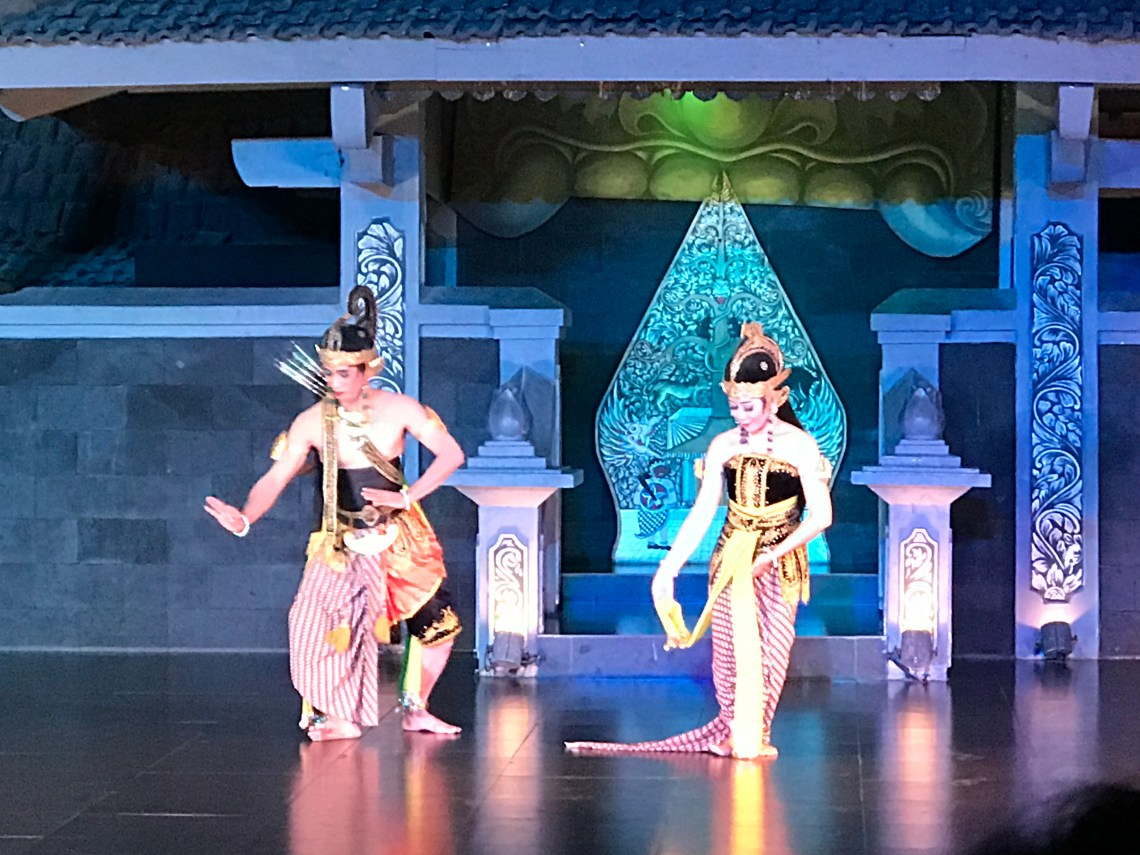 The beautiful  Ballet Performance at Yogyakarta.