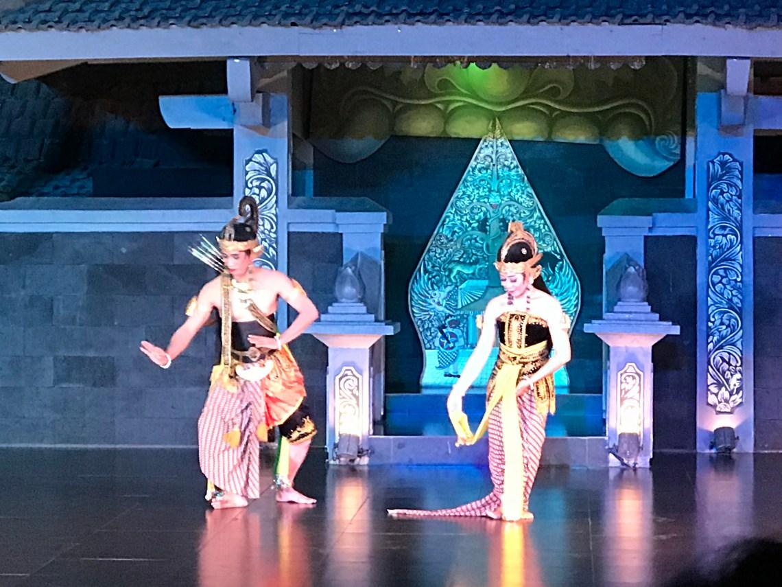 The beautiful  Ballet Performance at Yogyakarta.