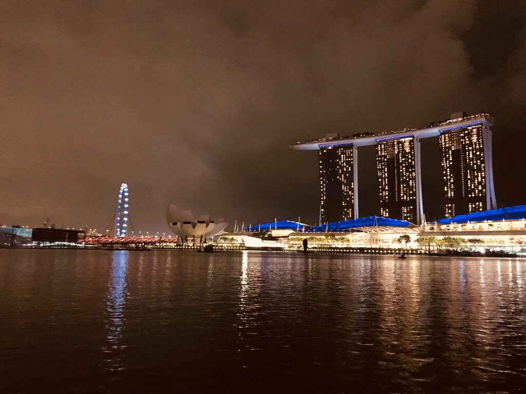 The iconic Marina Bay Sands- Best plac to stay in Singapore.