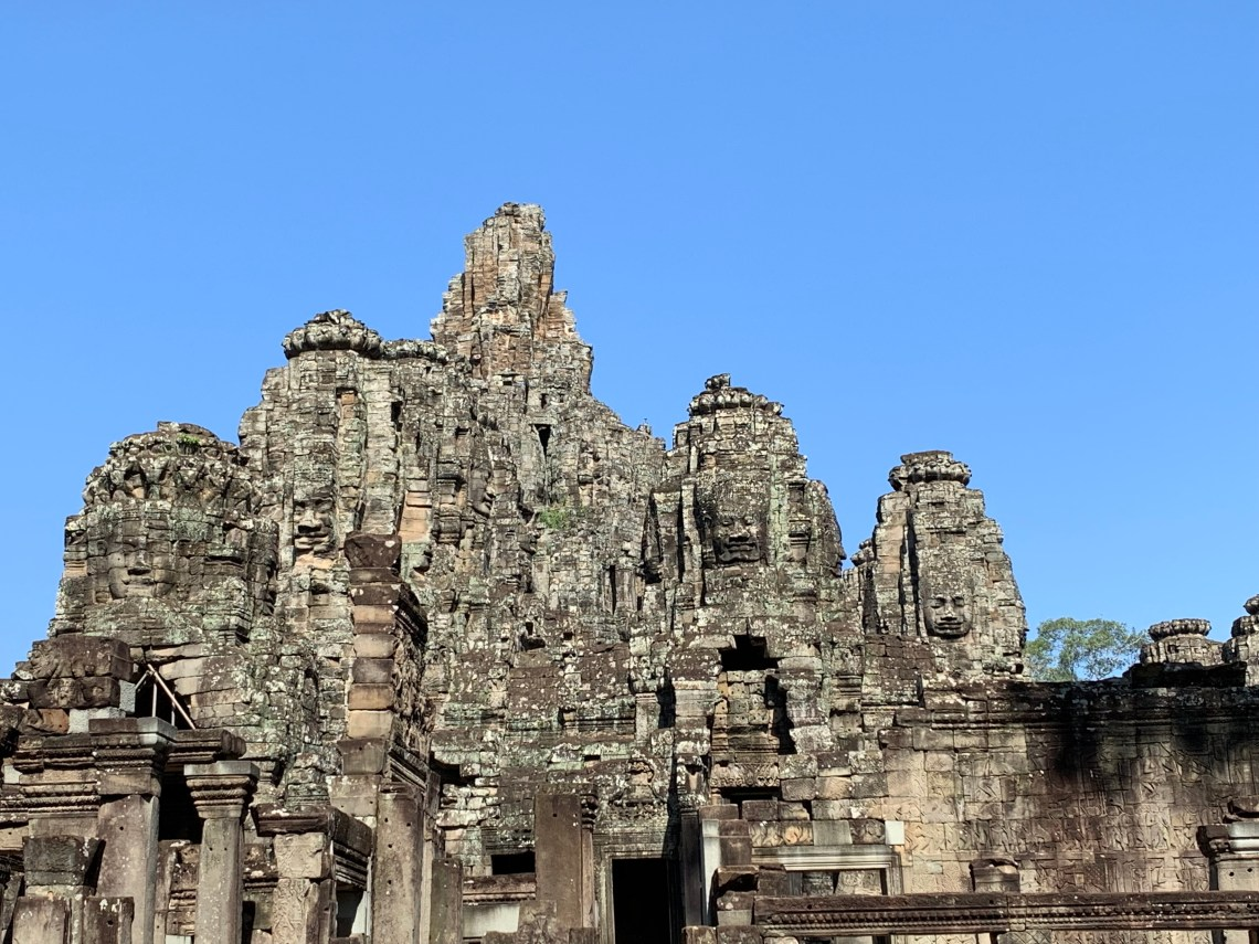 The beauty that is Bayon Temple.