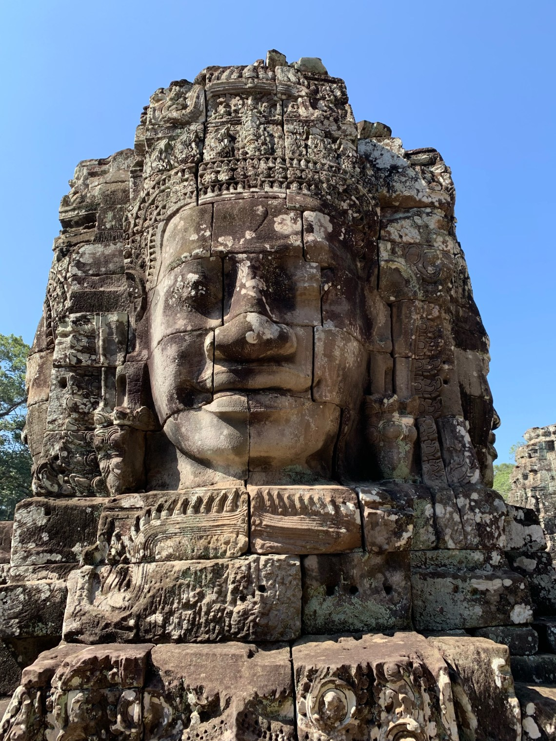 My favourite temple- Bayon temple