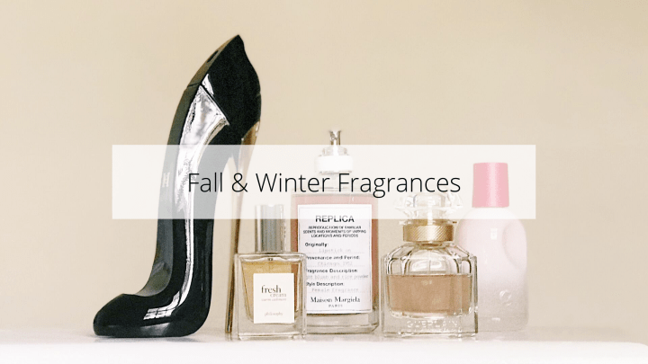 The Perfect Fall and Winter Fragrances