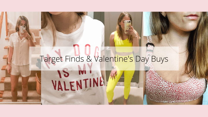 Latest Target Finds & V-Day Pieces!
