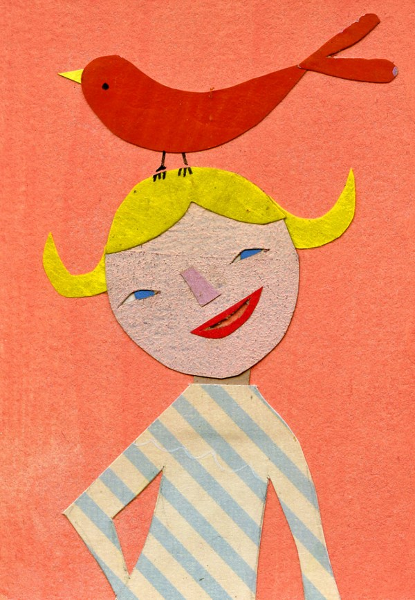 Children's Books with Collage Illustrations