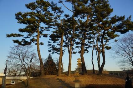More stone pagodas