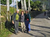 The trek begins, after extensive permitting, from Yuksam
