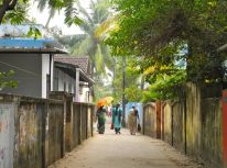 Backstreets of Ft. Cochin