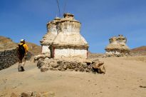 James loved the chortens