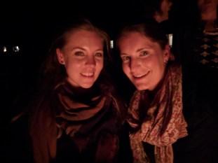 Martha and Jenny Vitello, high school buddies