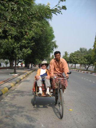 Getting around Mandalay!