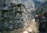 Mani wall, Everest Base Camp trek