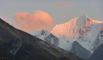 Sunrise, Langtang range