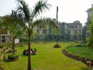 Grounds of the hostel