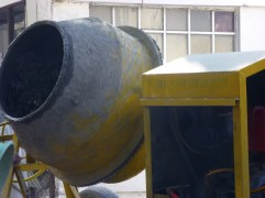 Prized cement mixer