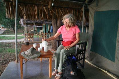 Tea time in Tanzania