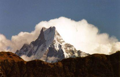 Machapuchare from Poon Hill, Annapurna trek
