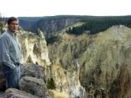 A colorful canyon.