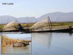 Fishermen on Inle Lake.