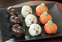 Halloween truffles