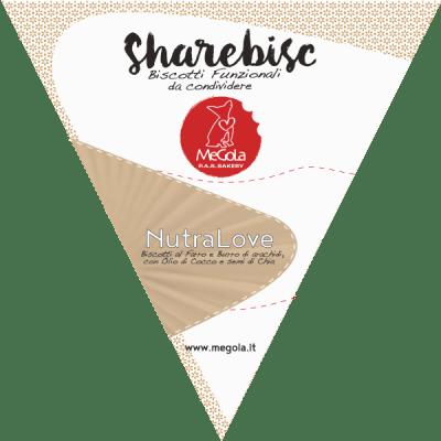 Megola ShareBisc Biscotti Funzionali Per Cani NutraLove