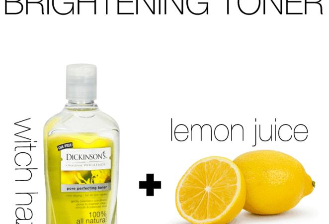 Witch Hazel & Lemon Toner