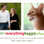 Our 2011 Christmas Card (plus address labels)!