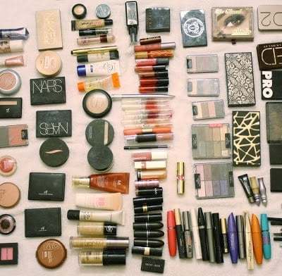 Entire Makeup Collection
