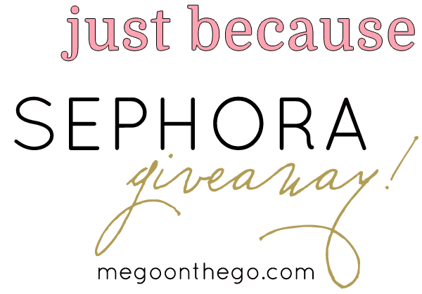 """A """"Just Because"""" Sephora Giveaway!"""