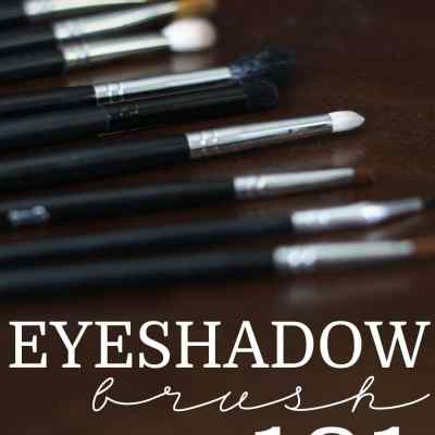 Eyeshadow Brush 101 - Everything you need to know about eyeshadow brushes in two minutes!